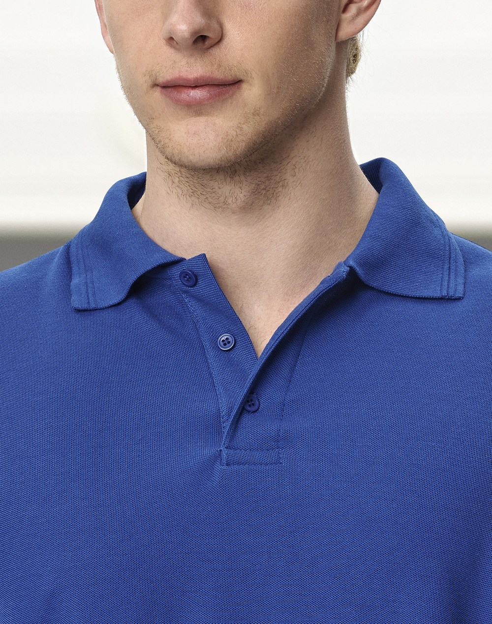PS12 Unisex Traditional Poly/Cotton Pique Long Sleeve Polo