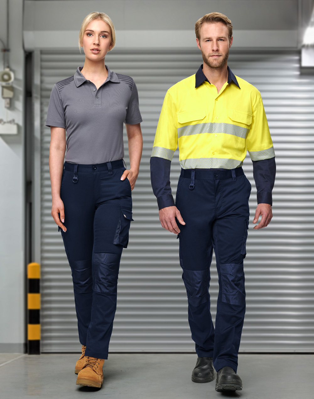 WP05 Unisex Utility Stretch Cargo Work Pants